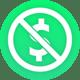 no fee icon