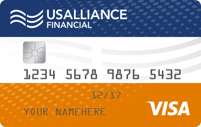 usalliance financial federal credit union visa throwback credit card