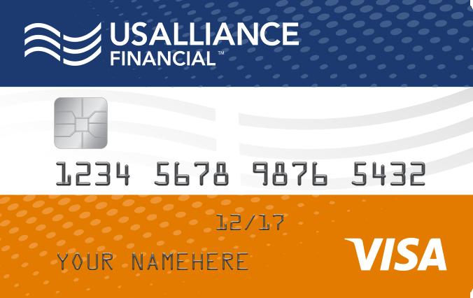 usalliance financial federal credit union visa throwback credit card